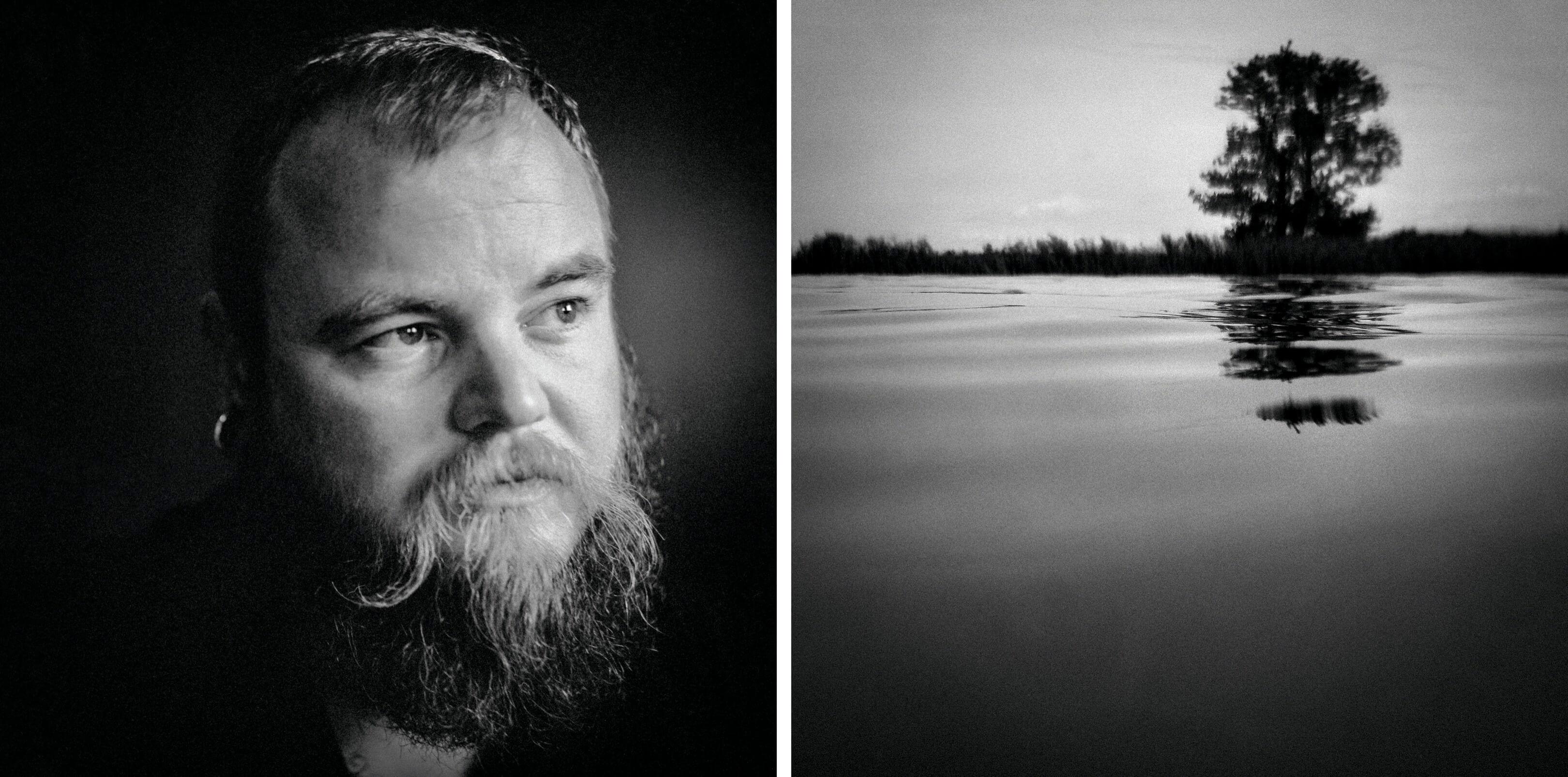 Chris Jurjen Poeles Fotografie Jur portret landschap fragment adempauze windstil staren in de stilte ademloos zwart wit zw kunst kunstfotografie