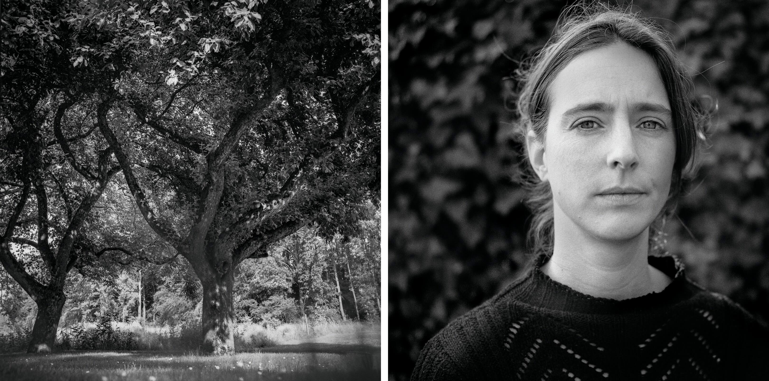 Jurjen Poeles Fotografie Jur portret landschap fragment adempauze windstil staren in de stilte ademloos zwart wit zw kunst kunstfotografie Daphne