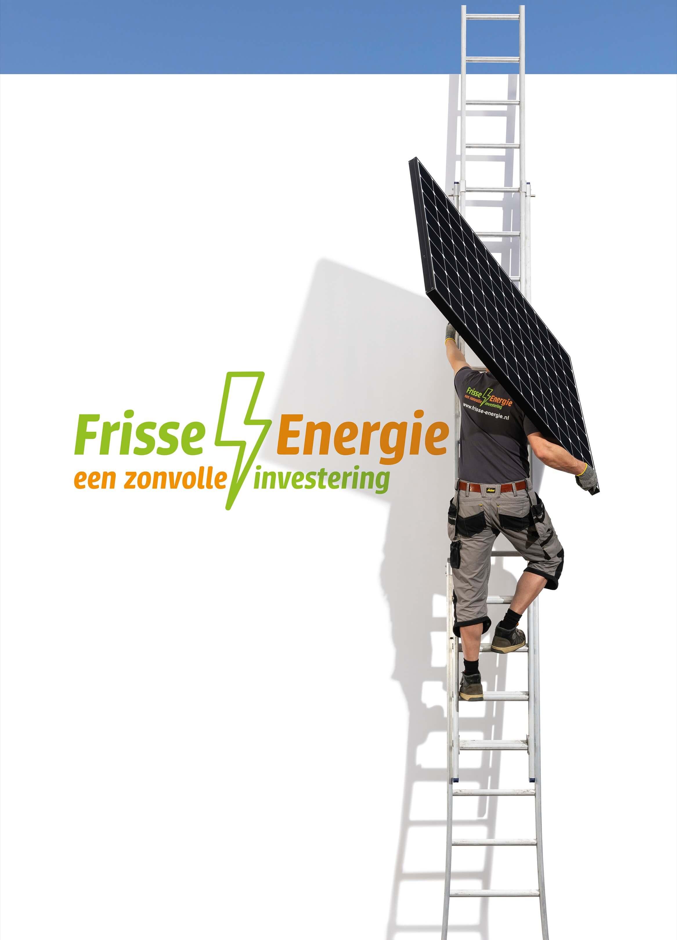 Frisse energie Jurjen Poeles fotografie campagne Arnhem billboard wildplakken grootformaat zonnepanelen groene energie