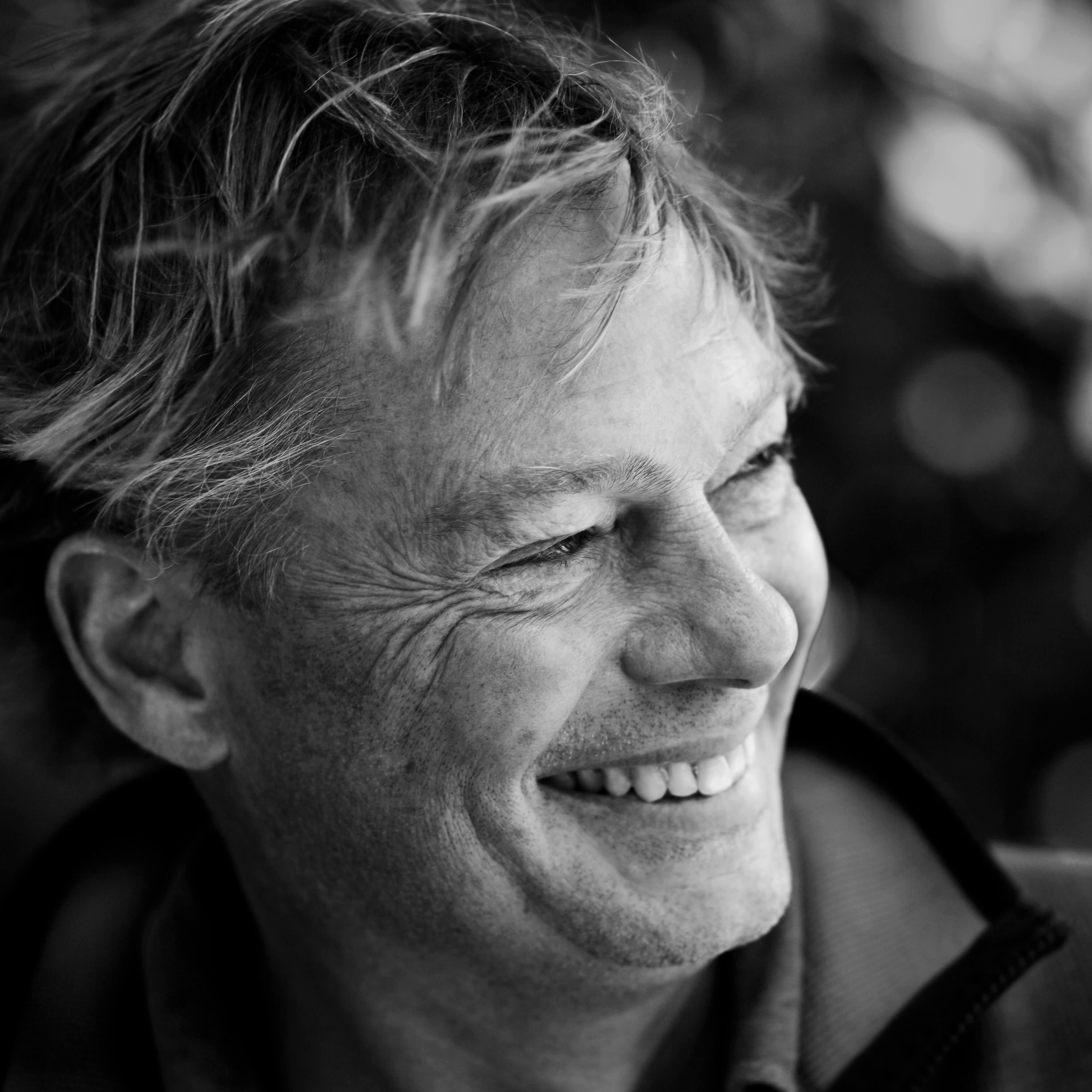 Frank Meijer landschapsarchitect architect portret karakter zwart wit mtd landschapsarchitecten Jurjen Poeles fotografie