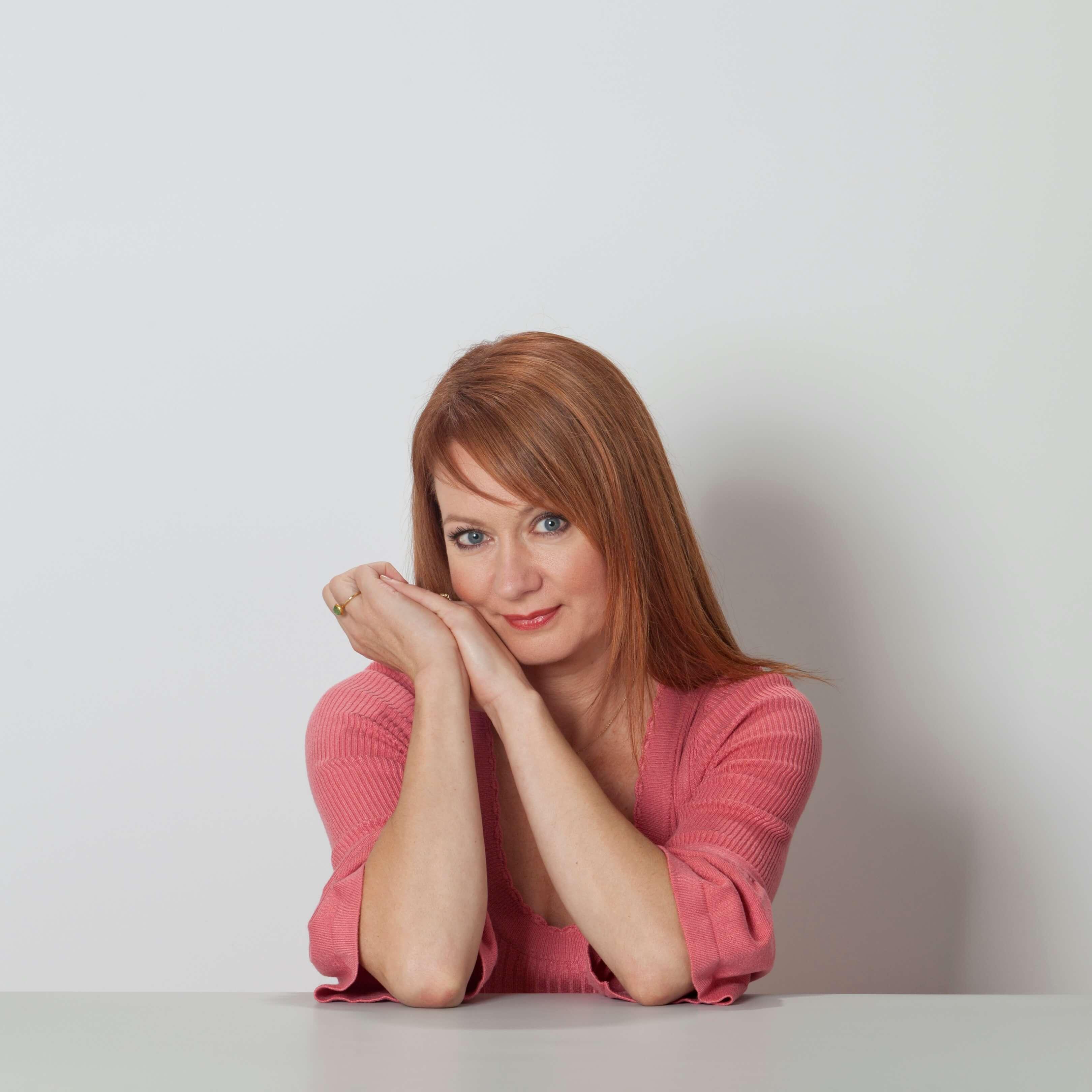 Brit Vreenegoor website Presenteren met Brit portret studio studioportret Jurjen Poeles fotografie