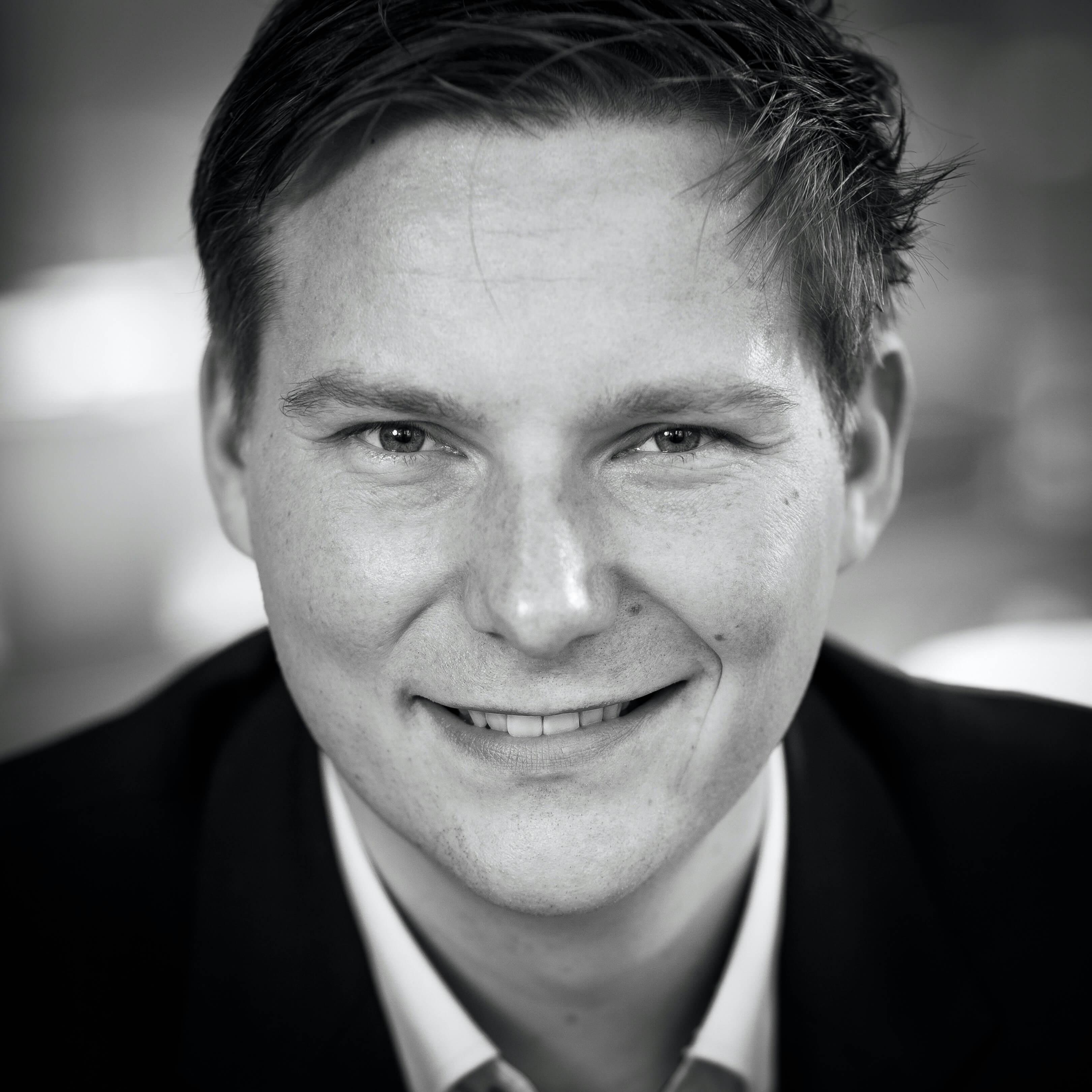 Sander van der Laan Supply Value portret Jurjen Poeles fotografie zwart wit