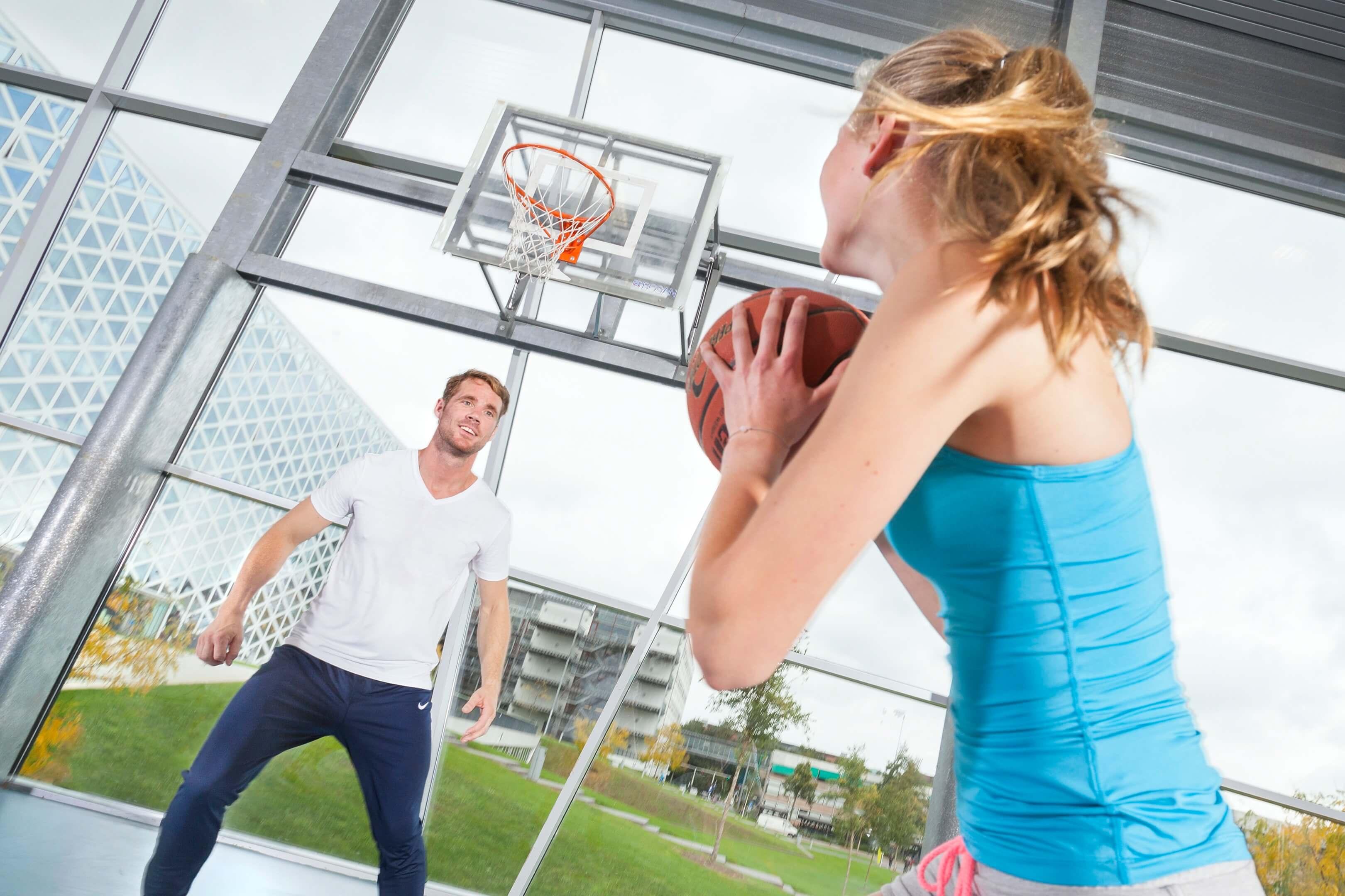 Hogeschool Windesheim Jurjen Poeles fotografie beeldbank spart basketbal