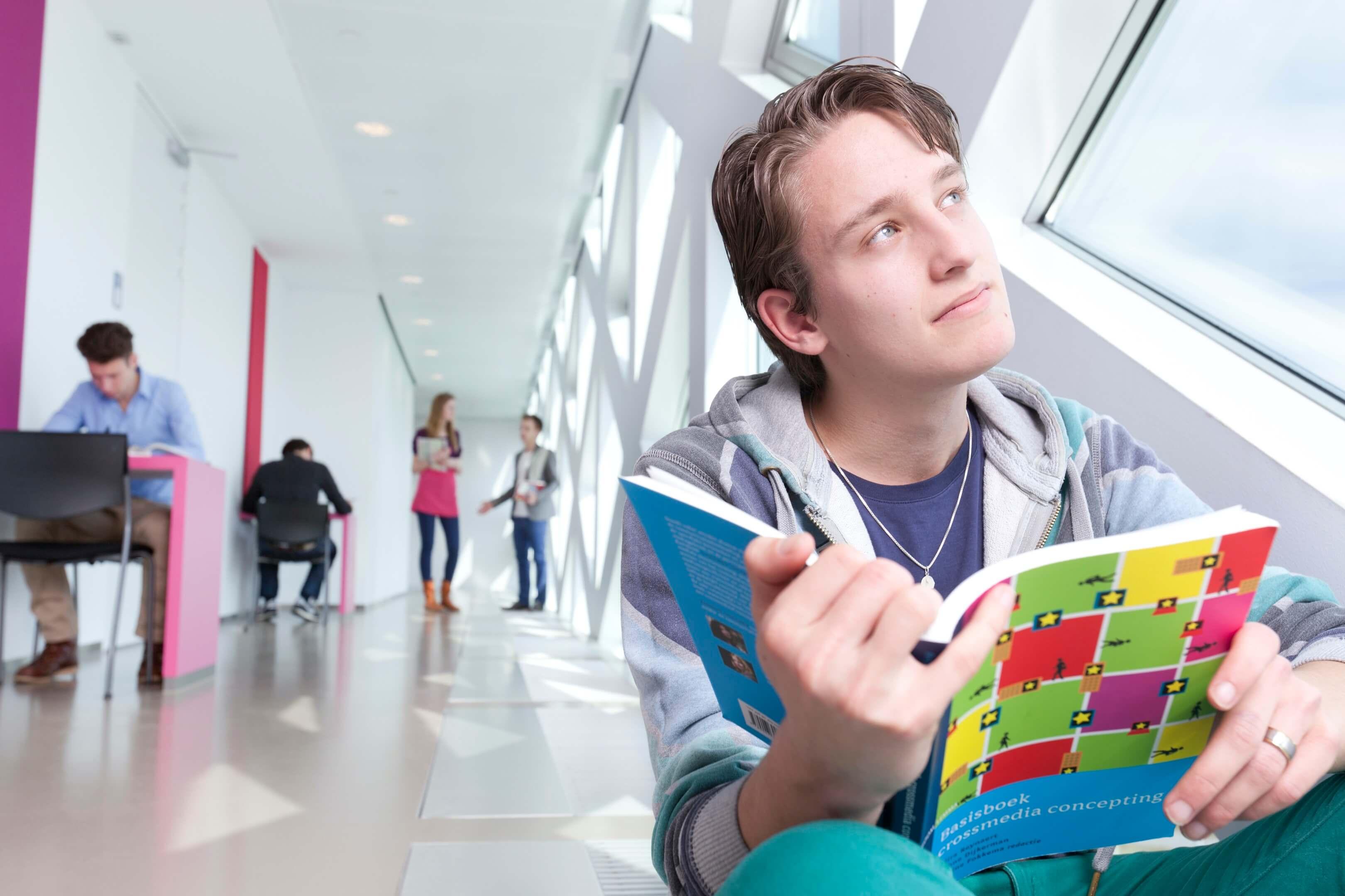 Jurjen Poeles Fotografie hogeschool Windesheim openlag campagne studenten dromen citaat Je hebt in je leven maar een talent nodig: het talent om je droom te vinden