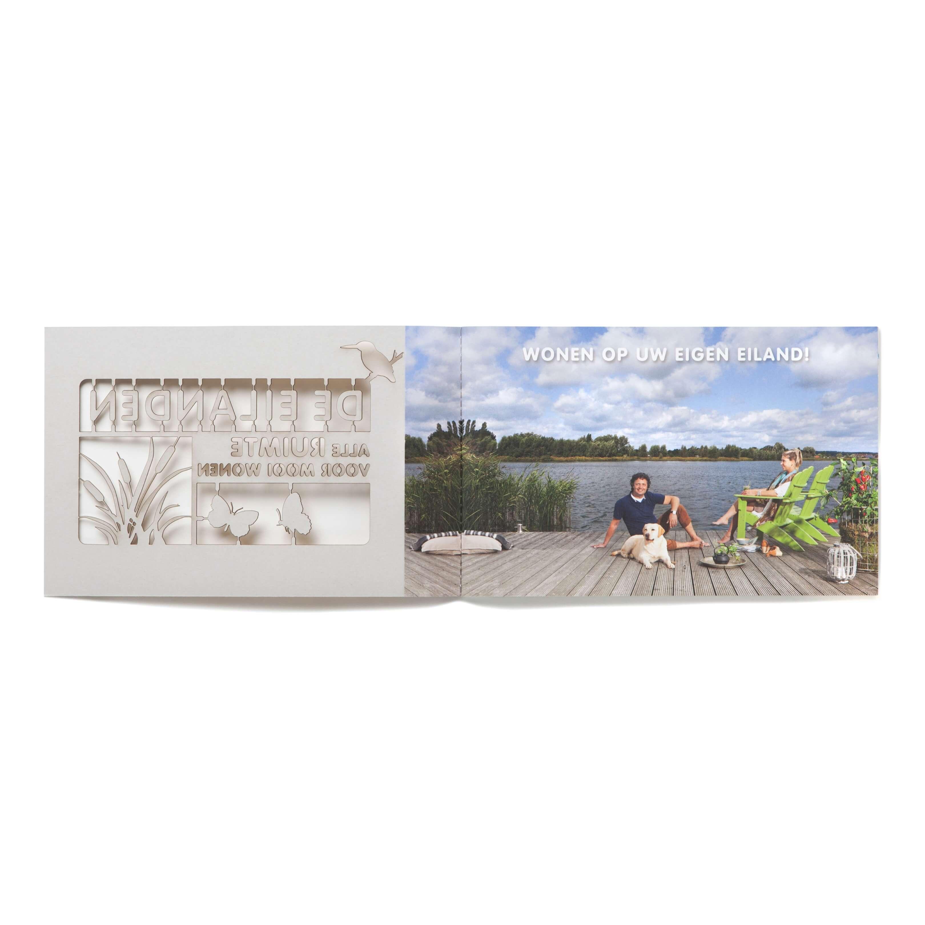 Jurjen Poeles Fotografie verkoopbrochure De Eilanden gemeente Arnhem Vastgoedplein vastgoed vastgoedproject lifestyle
