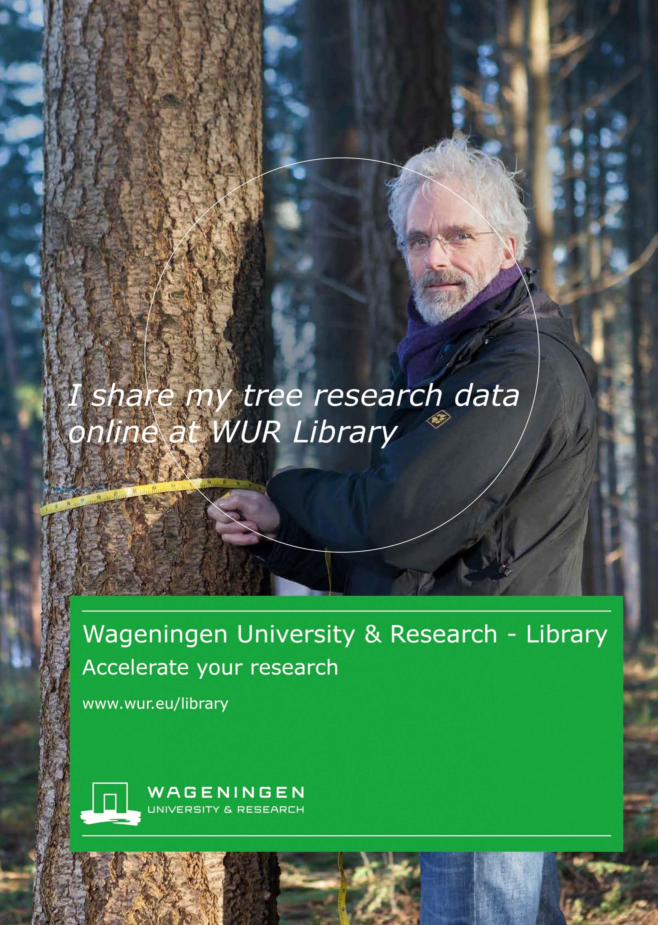 portret onderzoeker Jurjen Poeles Fotografie campagne beelden Wageningen University & Research Library locatie universiteit bibliotheek testimonial WUR