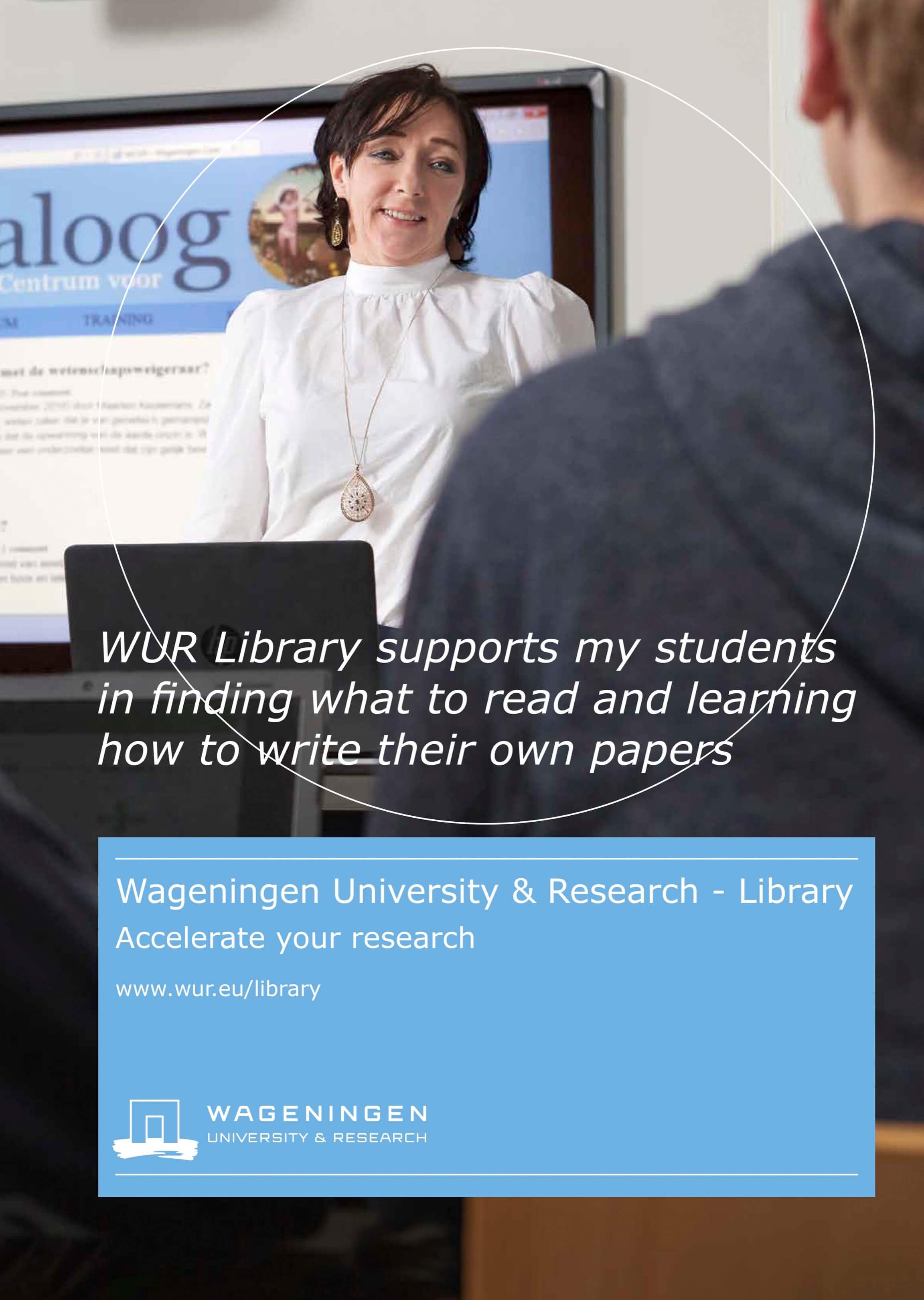 portret professor Noelle Aarts Jurjen Poeles Fotografie campagne beelden Wageningen University & Research Library locatie universiteit bibliotheek testimonial WUR